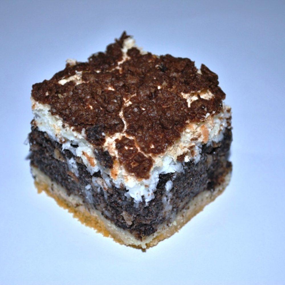 ciasto makowe z bezą